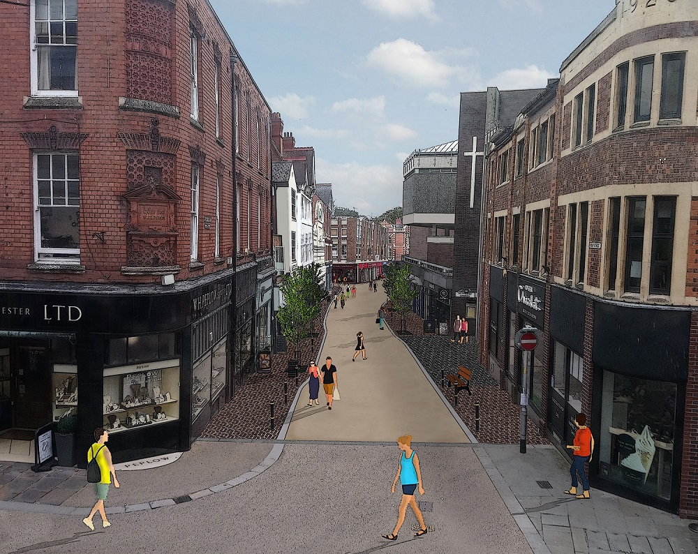 Worcester's Pump Street to undergo improvement work