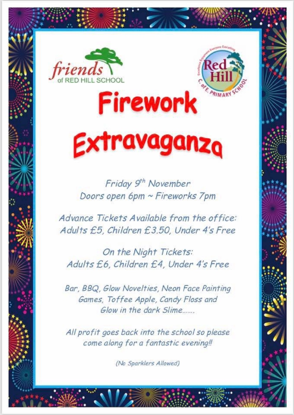 Red Hill School staging Firework Extravaganza