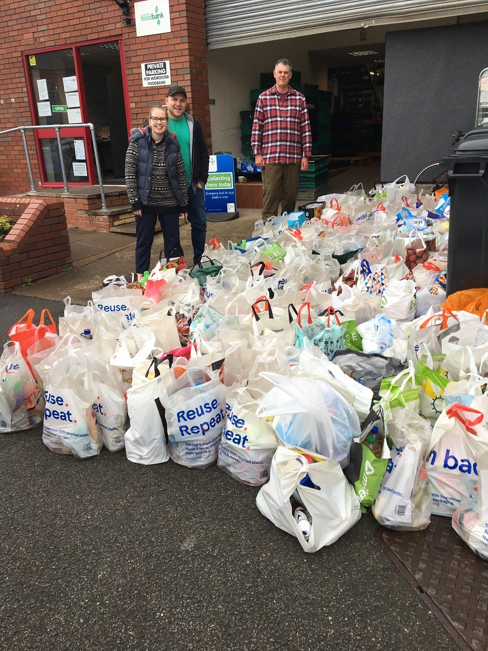 One-off Christmas foodbank collection this Saturday