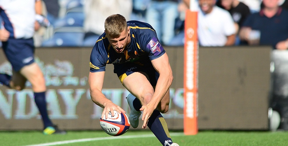 Alex Hearle graduates from Worcester Warriors academy to senior squad
