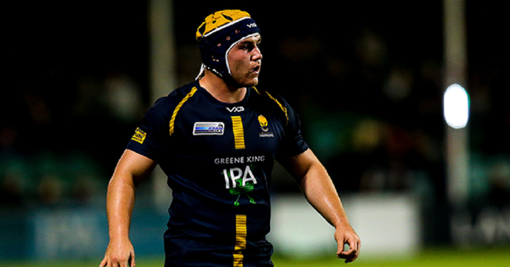 Beck Cutting promoted to Worcester Warriors senior squad at Sixways