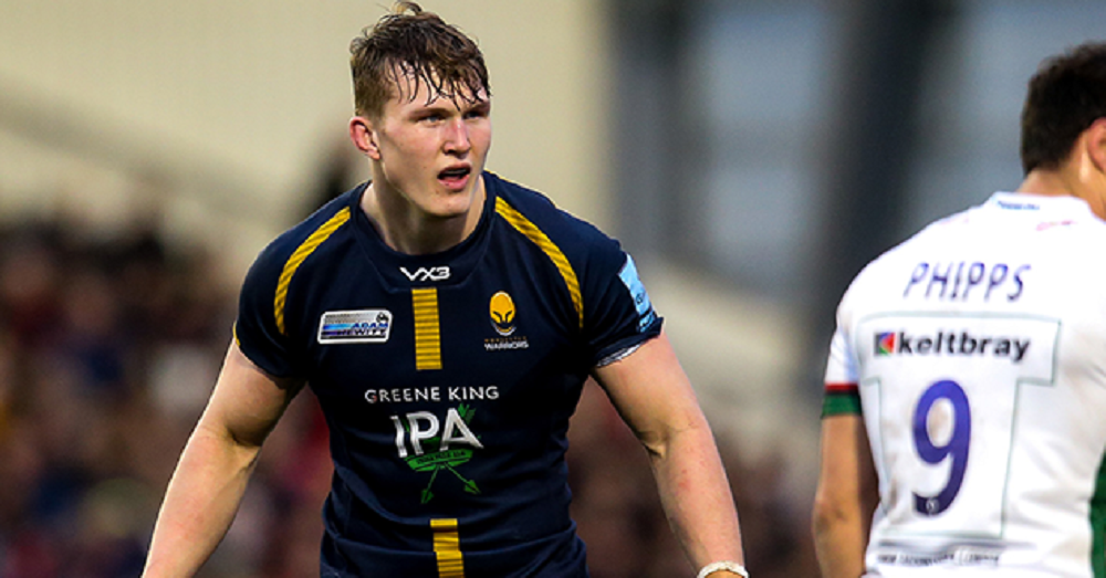 Ted Hill appointed Worcester Warriors' youngest club captain