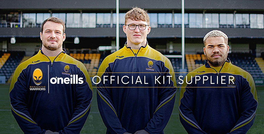 Worcester Warriors sign kit deal with Irish sportswear manufacturer