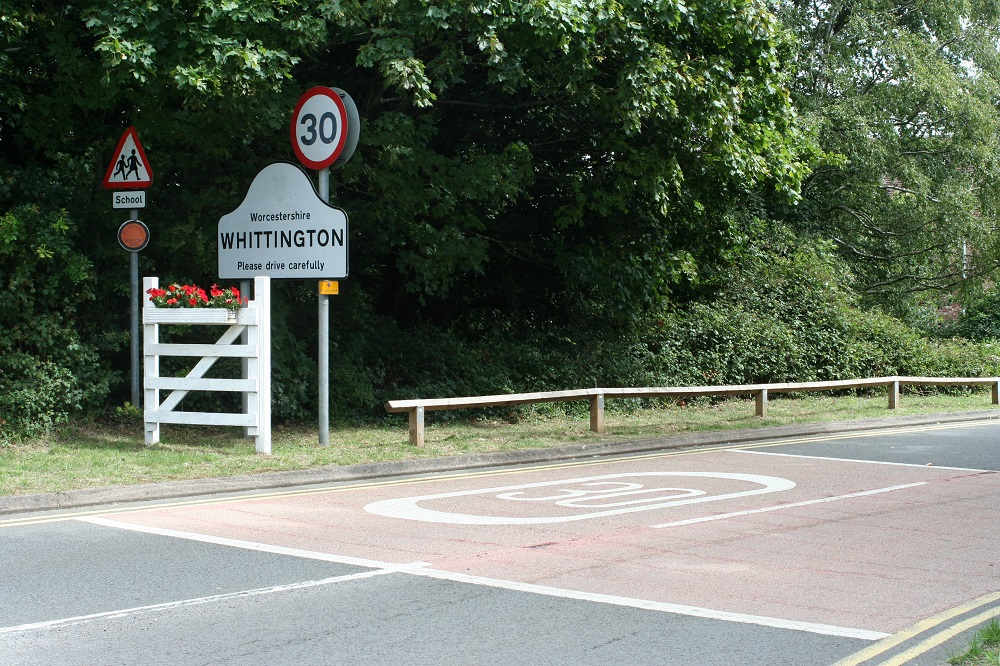 'New access road into village could reduce lorries' impact'