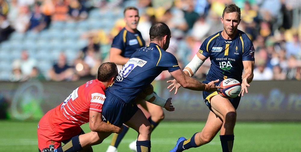 Ashley Beck starts for Worcester Warriors against Leicester Tigers