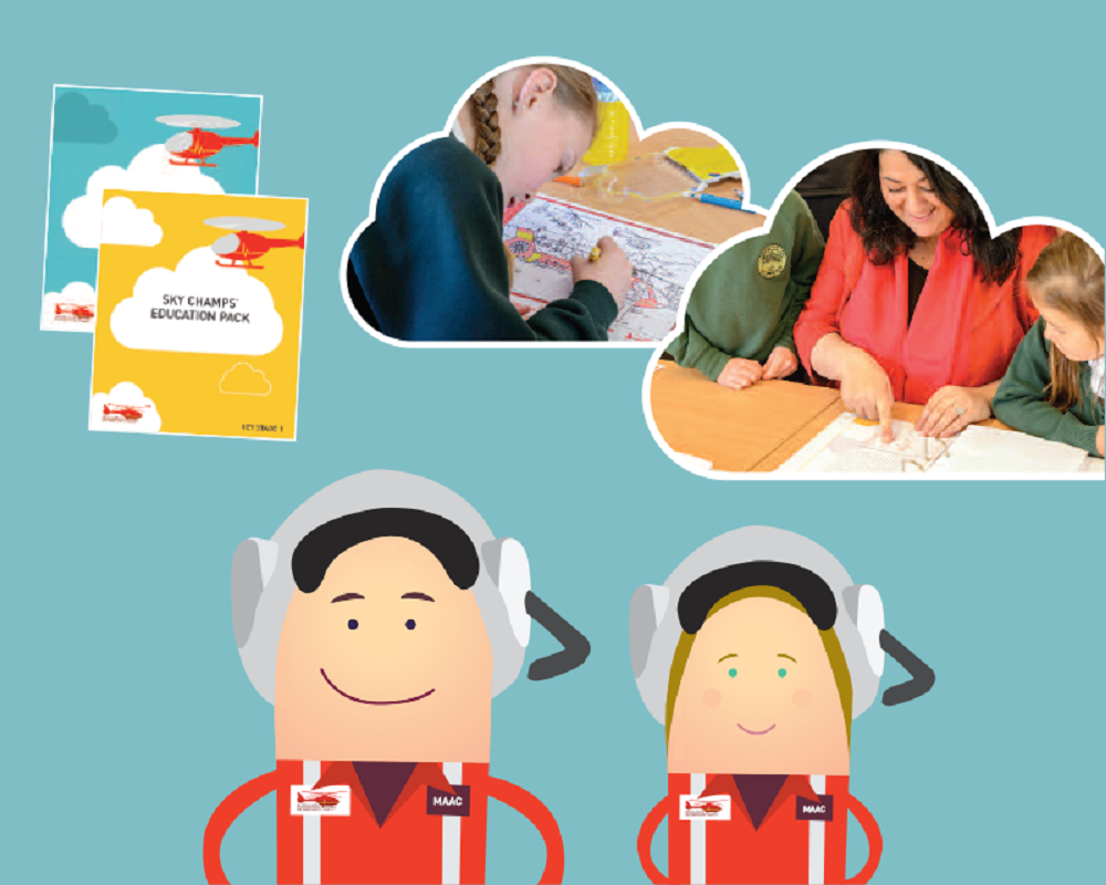 Midlands Air Ambulance Charity giving free access to education activities