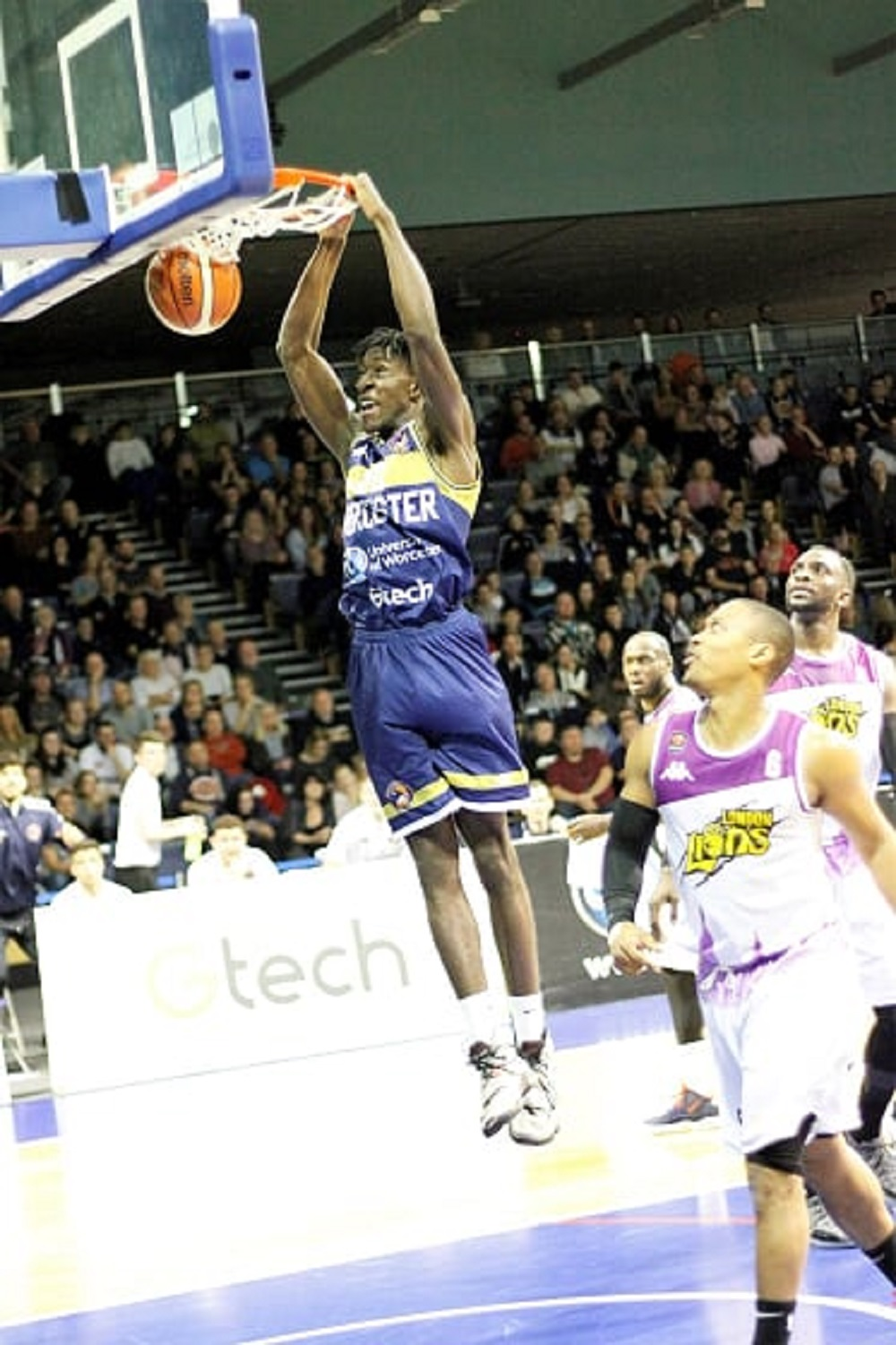 Daniel Johnson-Thompson enjoying life after late start with Worcester Wolves
