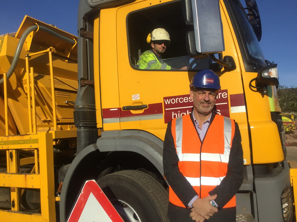 Worcestershire roads set to be kept clear through grit