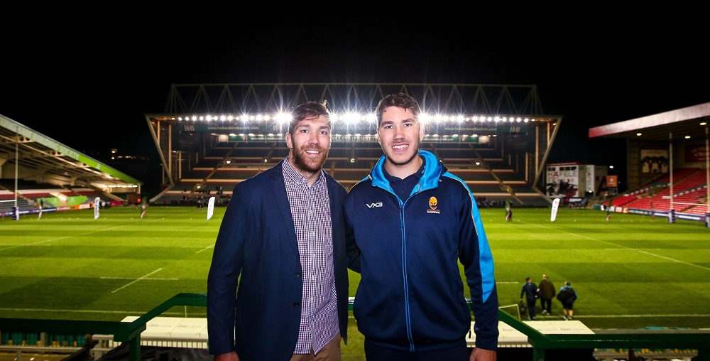 Worcester Warriors lock Andrew Kitchener gets better of brother in win over Leicester Tigers