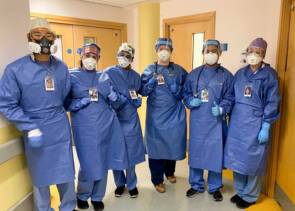 Worcestershire Royal Hospital staff put human face on PPE with photos