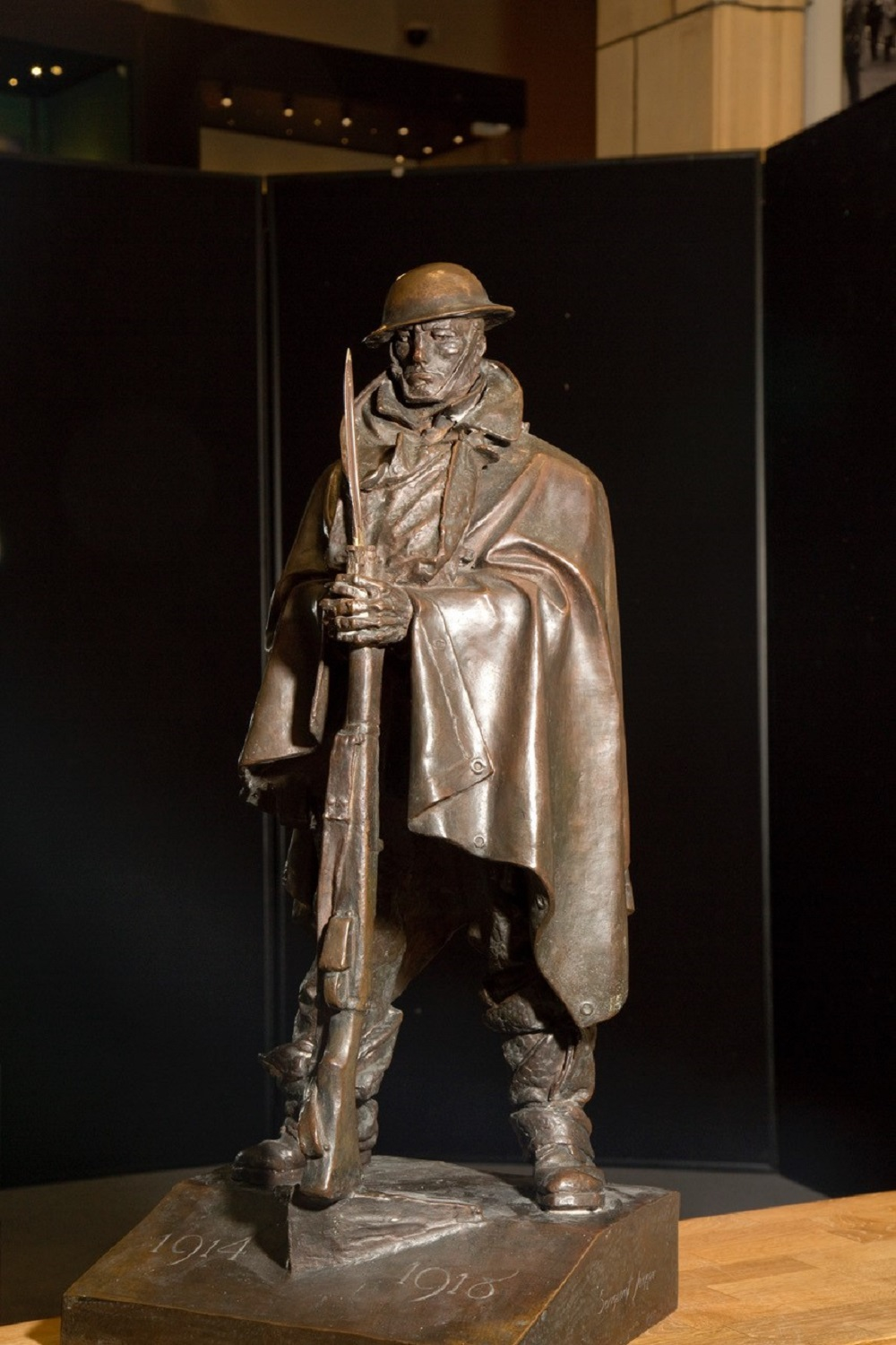 Soldier statue project could get cash boost