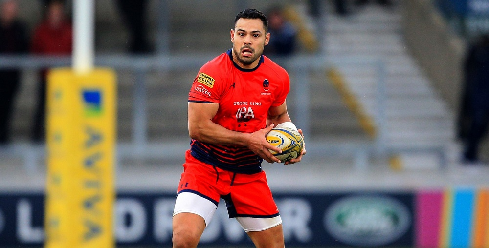 Te'o named as replacement for Warriors against Ospreys