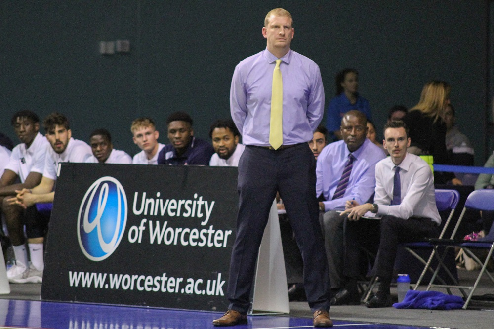 Worcester Wolves head coach Ty Shaw remains positive
