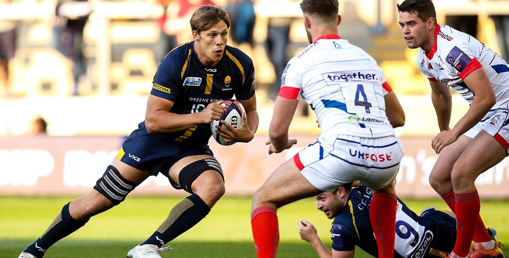 Worcester Warriors' Caleb Montgomery already planning for life after rugby